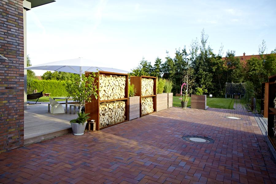 Cortenstahl in rostoptik for Gartengestaltung cortenstahl